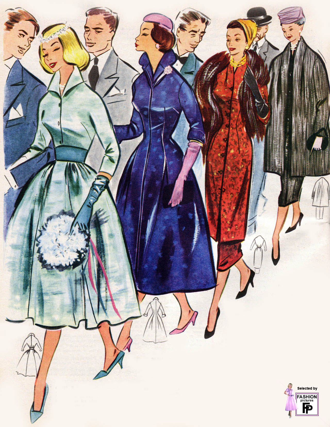 50s fashion for women 30