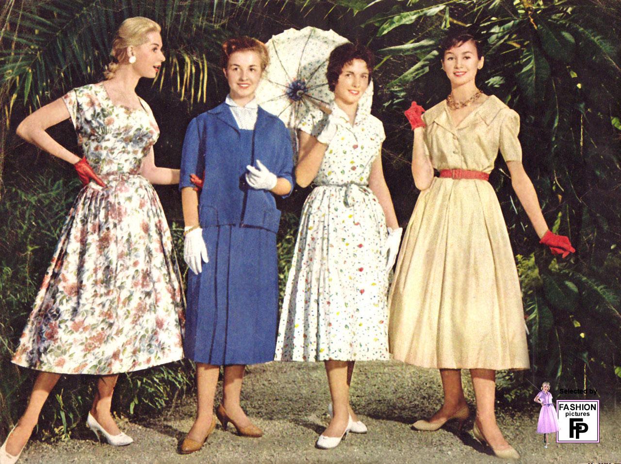 Ретро 50 годов женщины 4 фотография