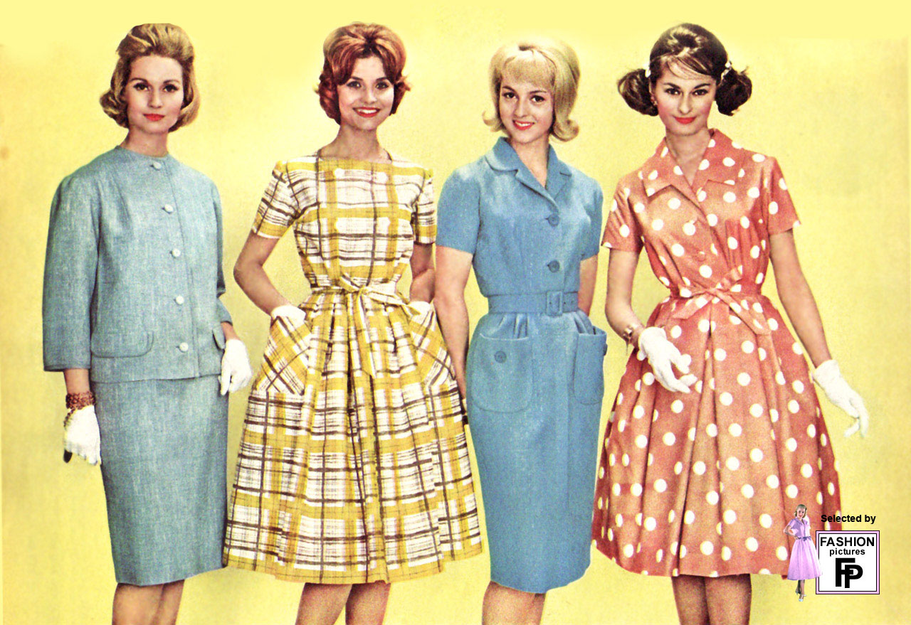 Retro Fashion Pictures From The 1950s 1960s 1970s 1980s And 1990s