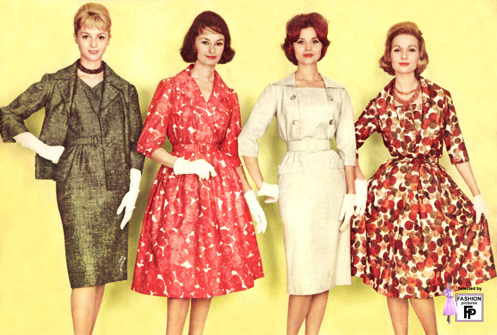 Fashion in the late 1950s 10