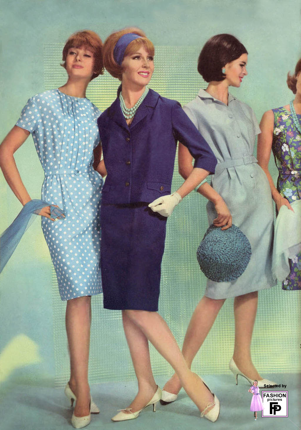 1960 fashion women dresses Early Sports Fashion History to 1960 - Haute Couture