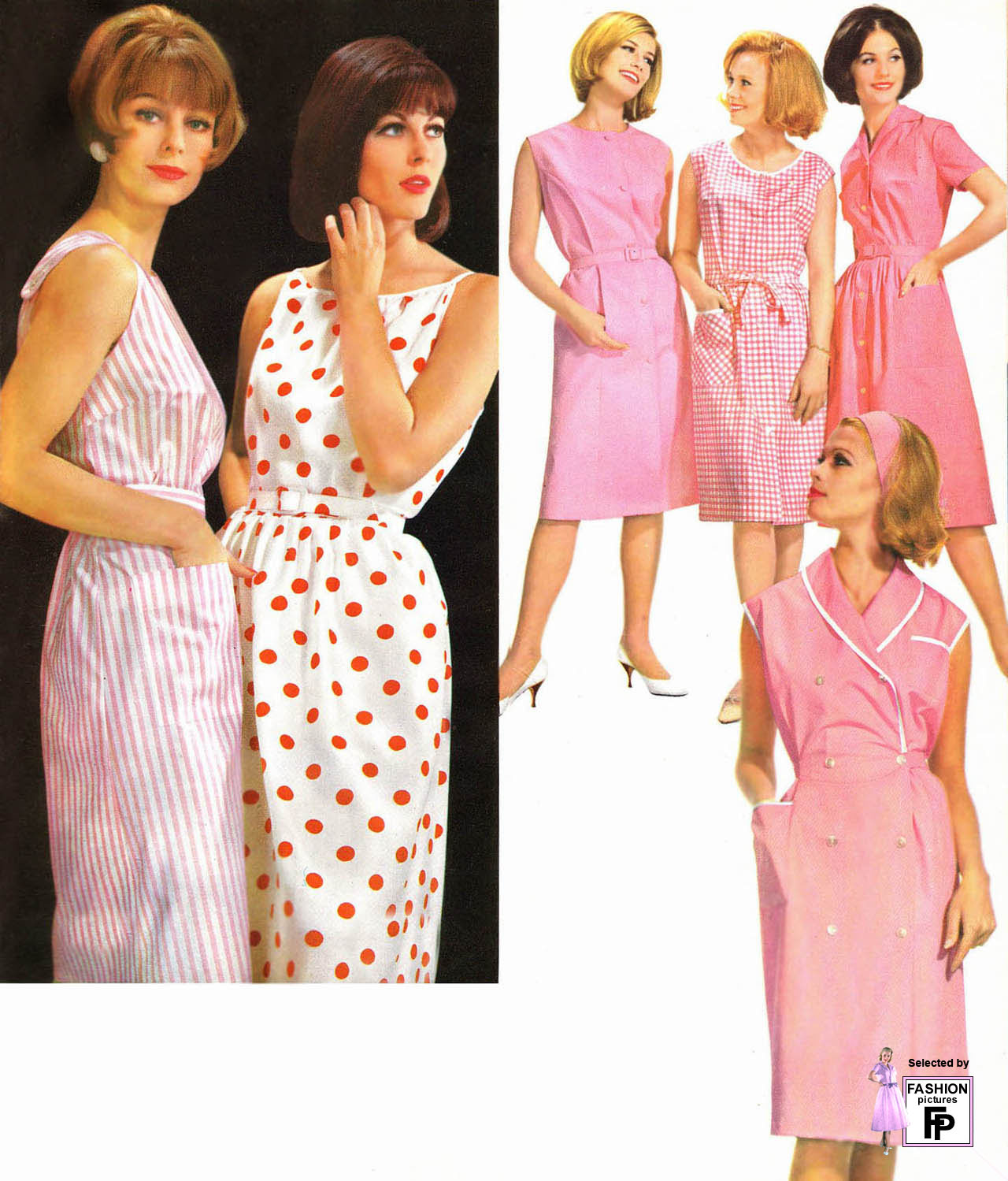 Womens fashion in the 60s 93