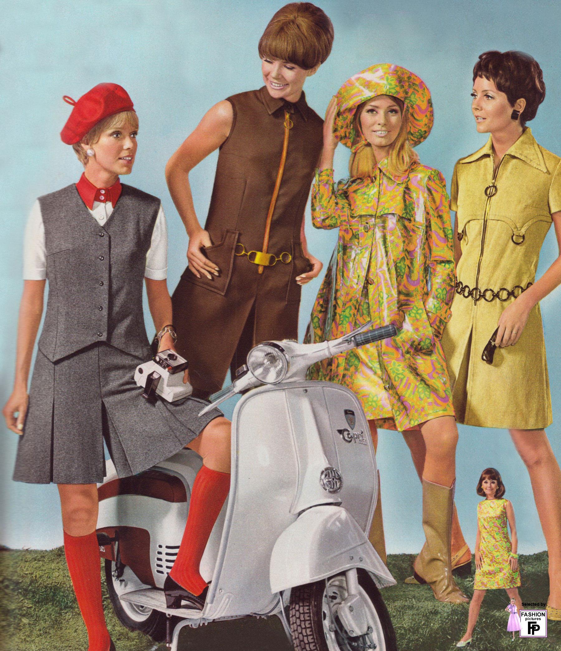 Мода 60 х годов франция фото