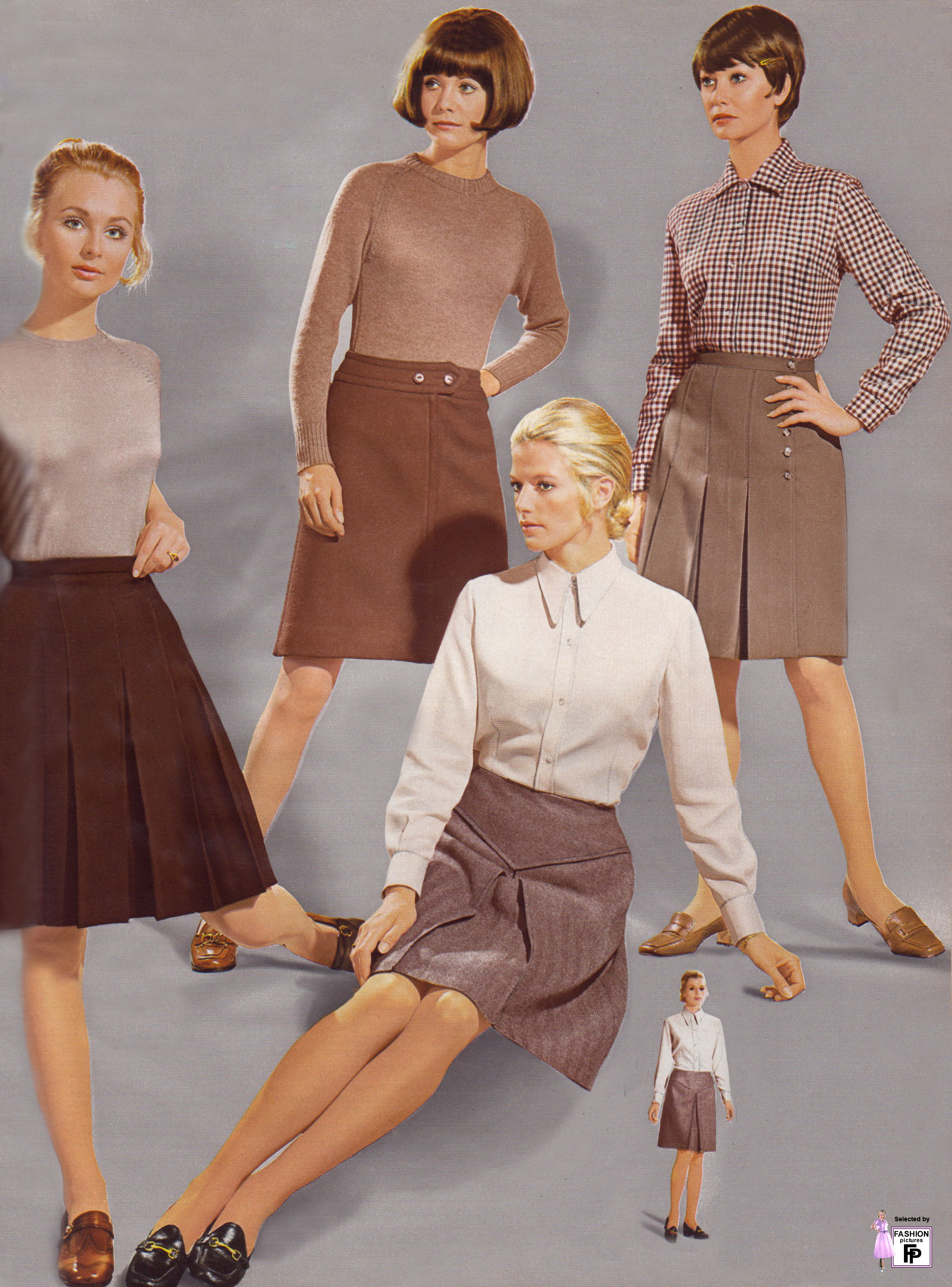 Retro fashion pictures from the 1950s 1960s 1970s 1980s ...