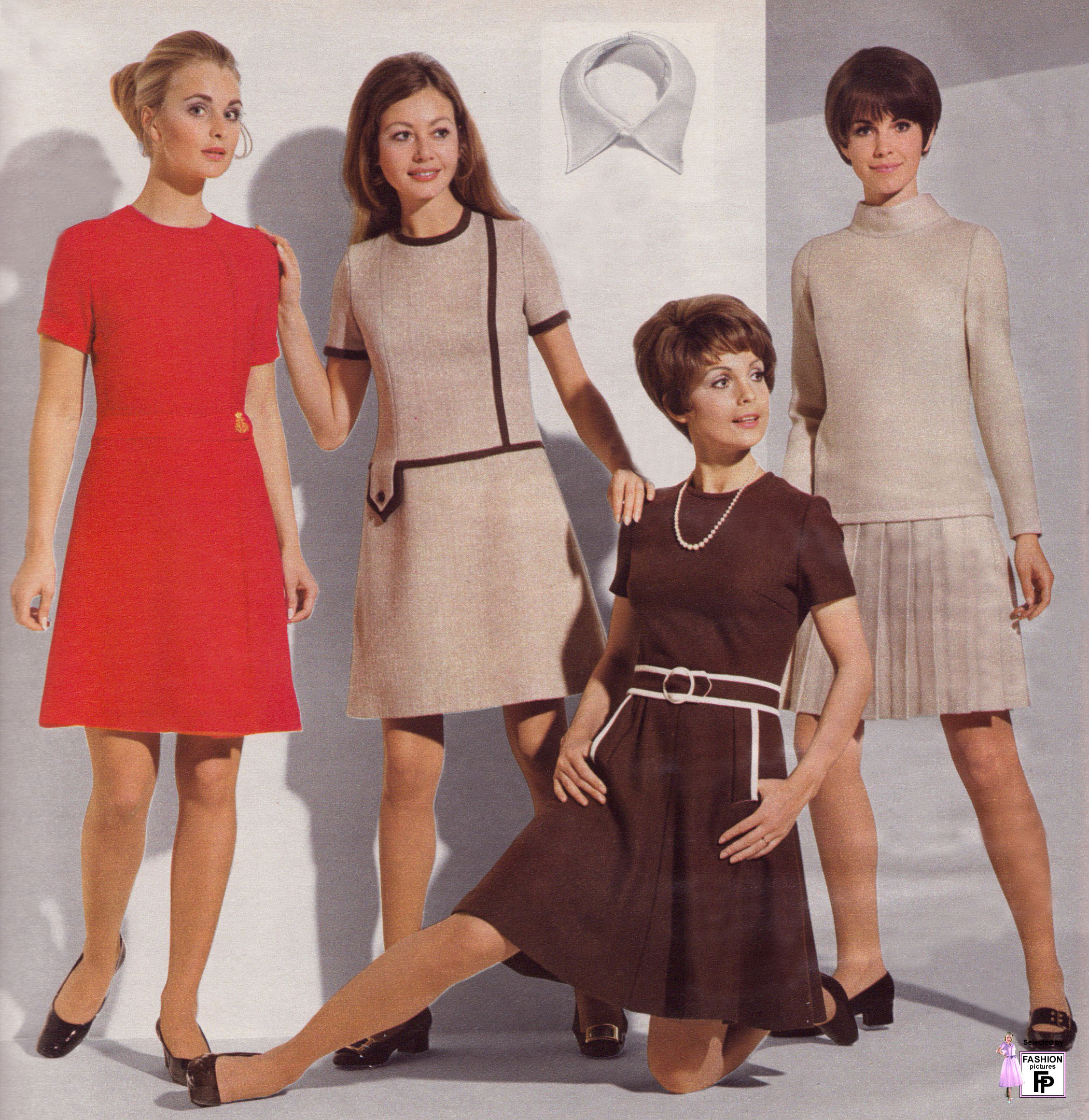 the major changes in women clothing styles and fashion in the 60s