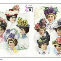 1901-womens-fashion-summer-hats