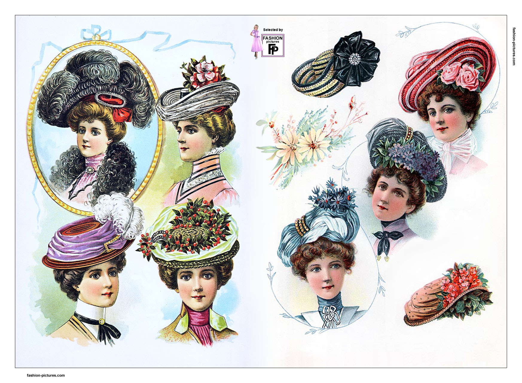 early 1900s fashion hats - photo #15