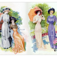 1910-dresses-for-walking-in-summer