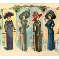 1910-skirts-and-dresses-with-jackets-and-hats