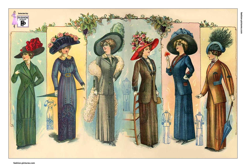 1910 Style Dresses