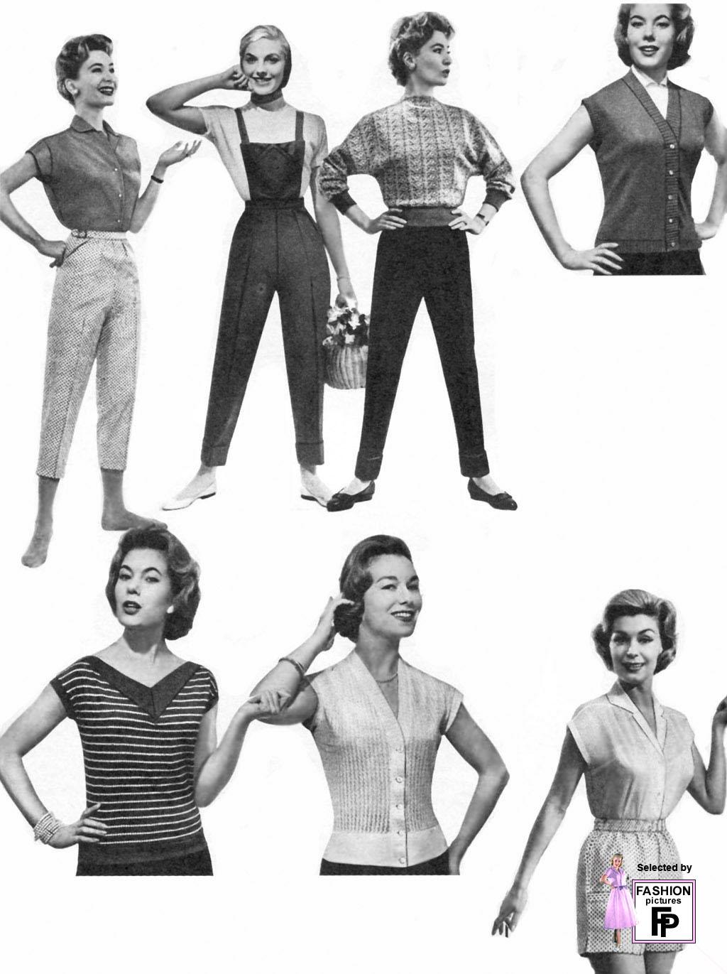 1950s Fashion. Page 3
