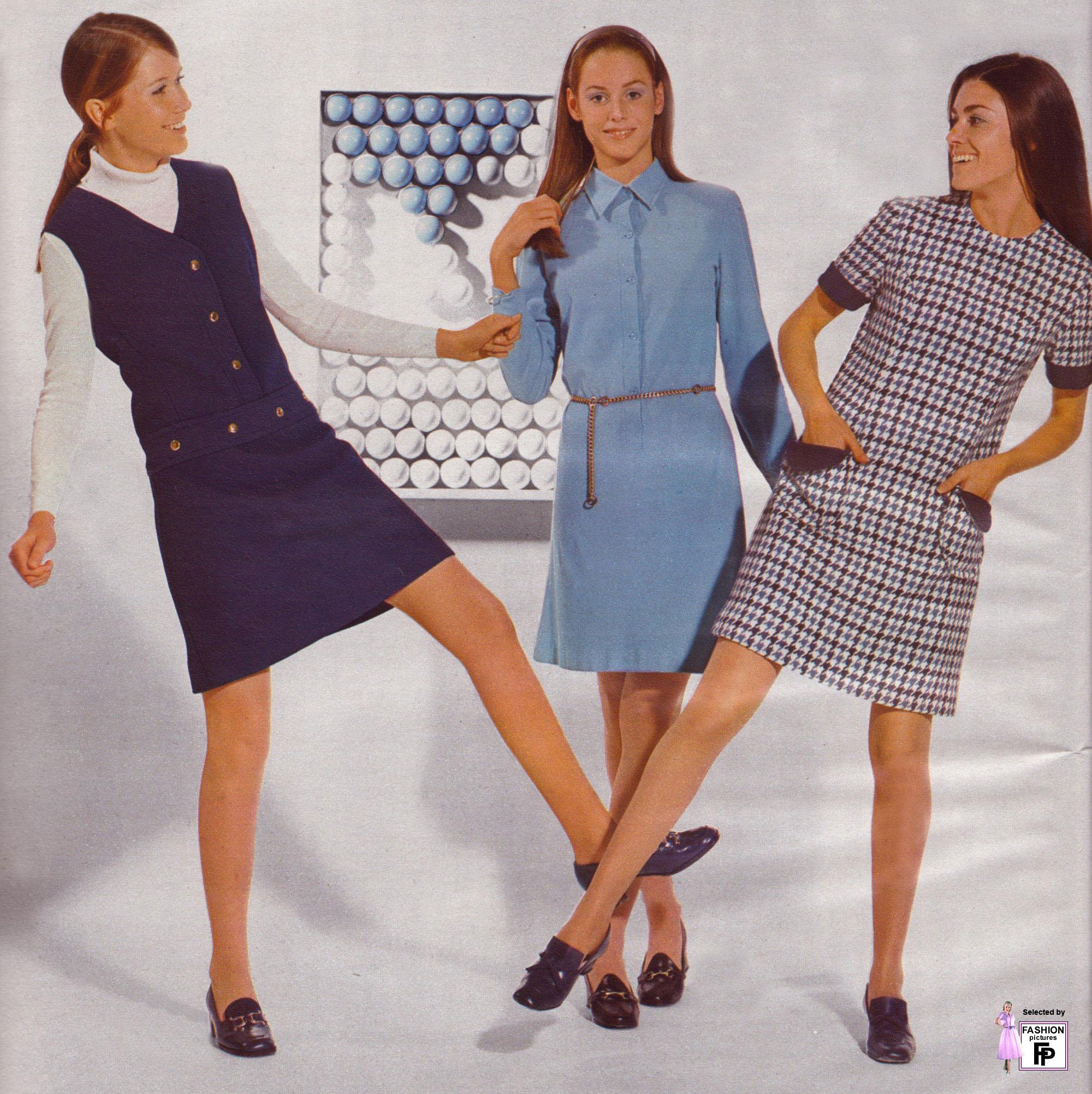 1969 style dress