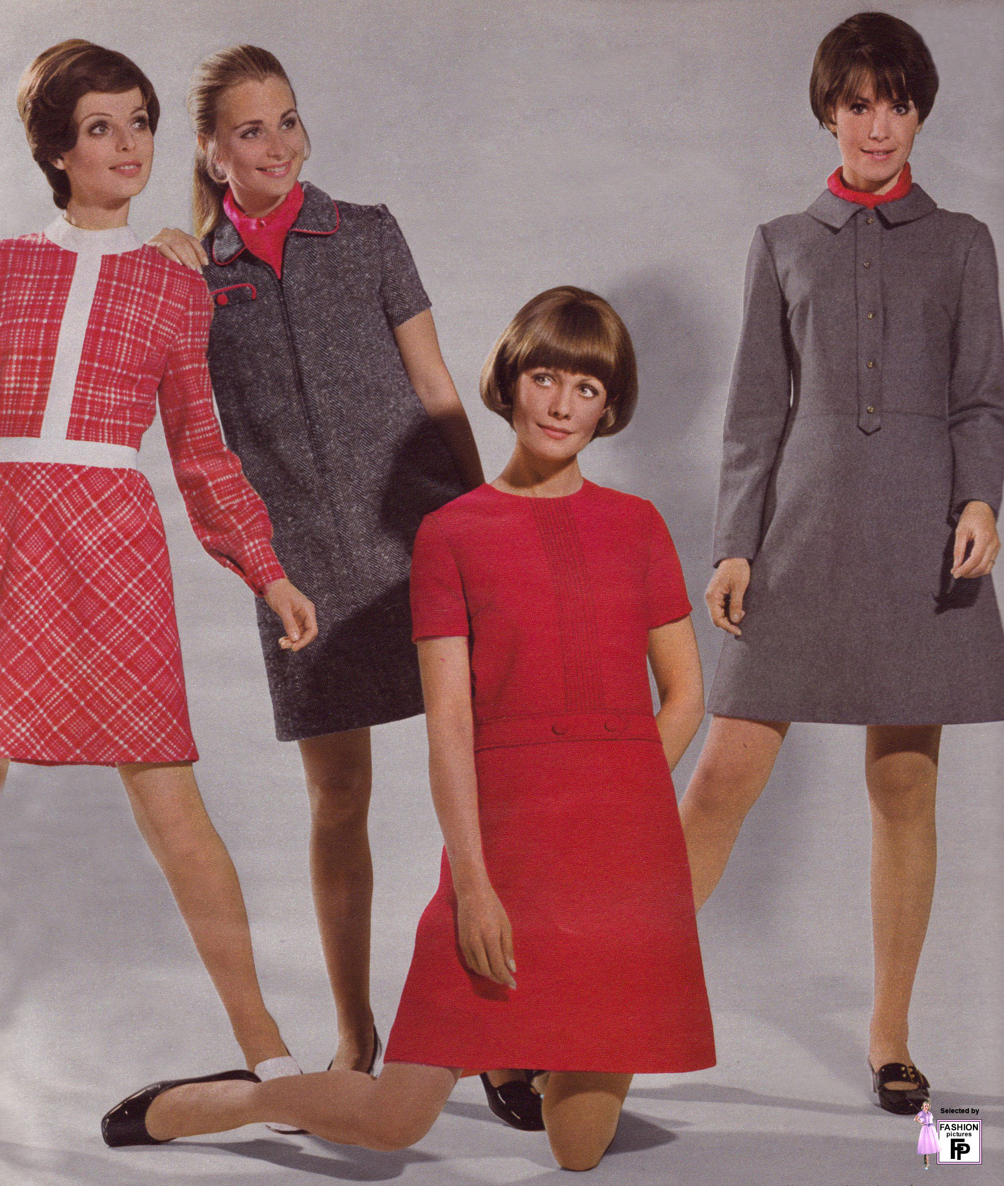 Retro fashion pictures from the 1950s 1960s 1970s 1980s Fashion pictures from the 1950s