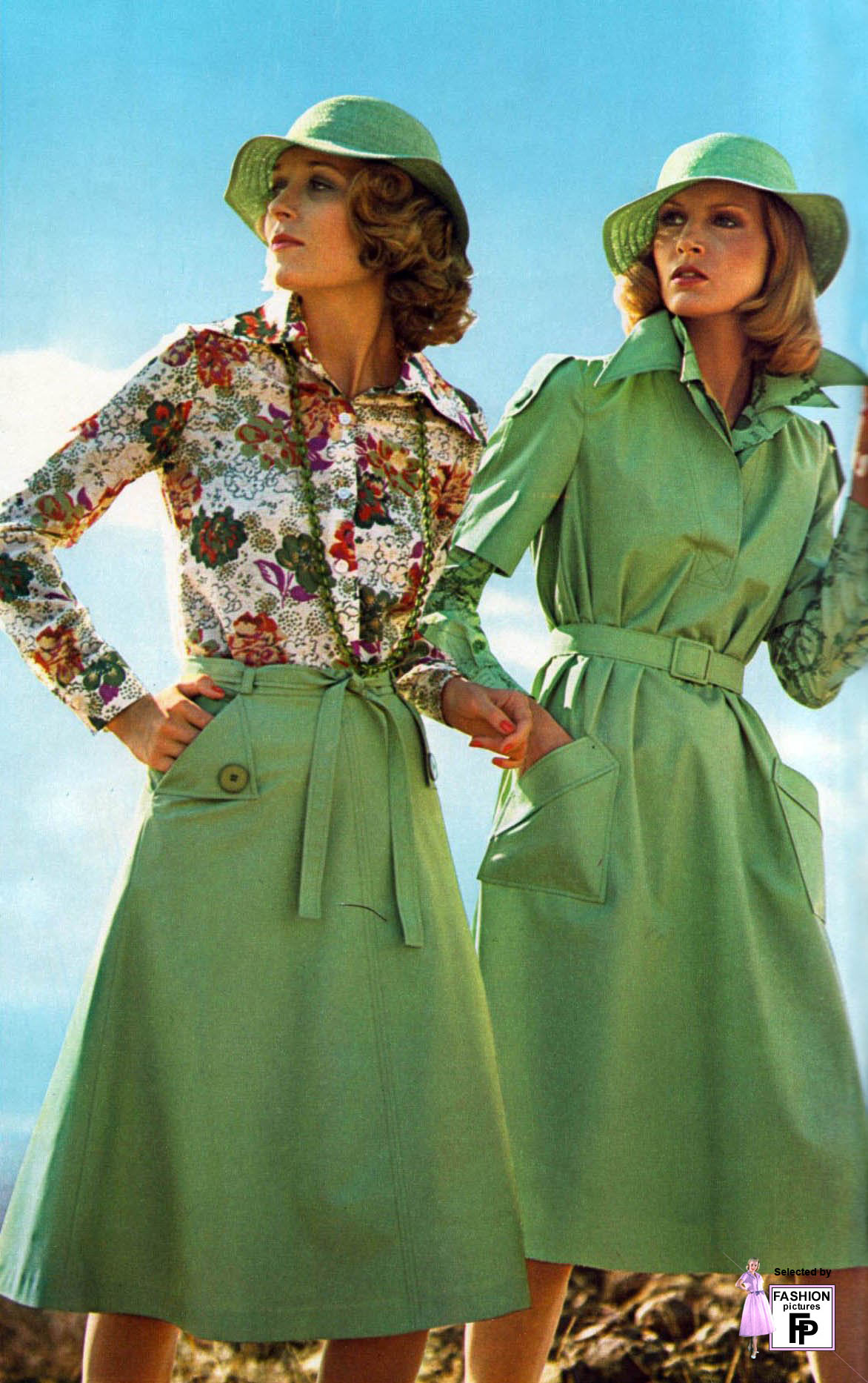 Мода 70 х годов фото платья