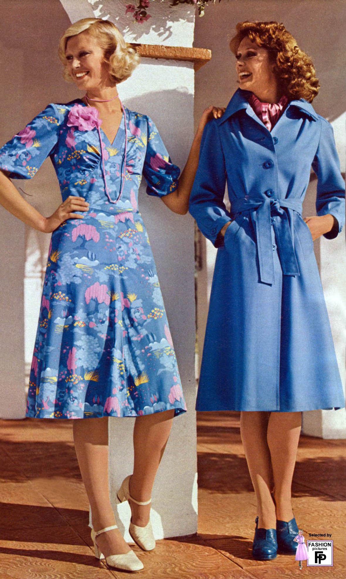 1975 fashion dresses