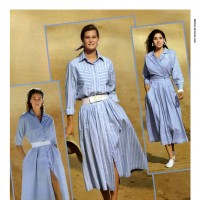 1990s fashion 1990-r0504-striped-chambray-dress-1tra0070