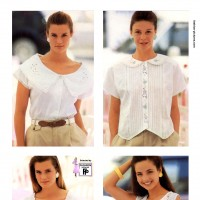 1990s fashion 1990-r0506-white-blouse-1tra0044