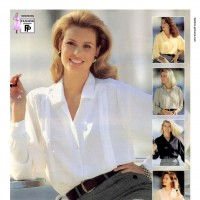 1990s fashion 1990-r0510-crepe-chine-blouse-1tra0163